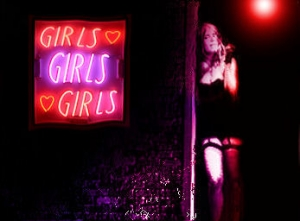 Red Light Districts provide a safer environment  for Prostitutes to ply their trade.