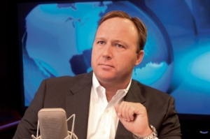 Alex Jones hosts a very popular conspiracy show.